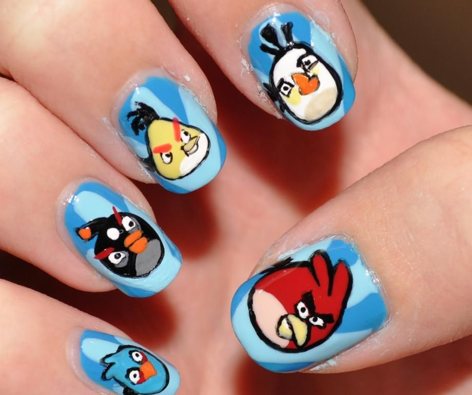 Angry Bird Nails X