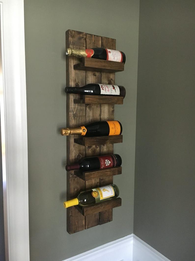 Rack De Vin Rustique Rack D Epices Porte Bouteille De Vin Monte