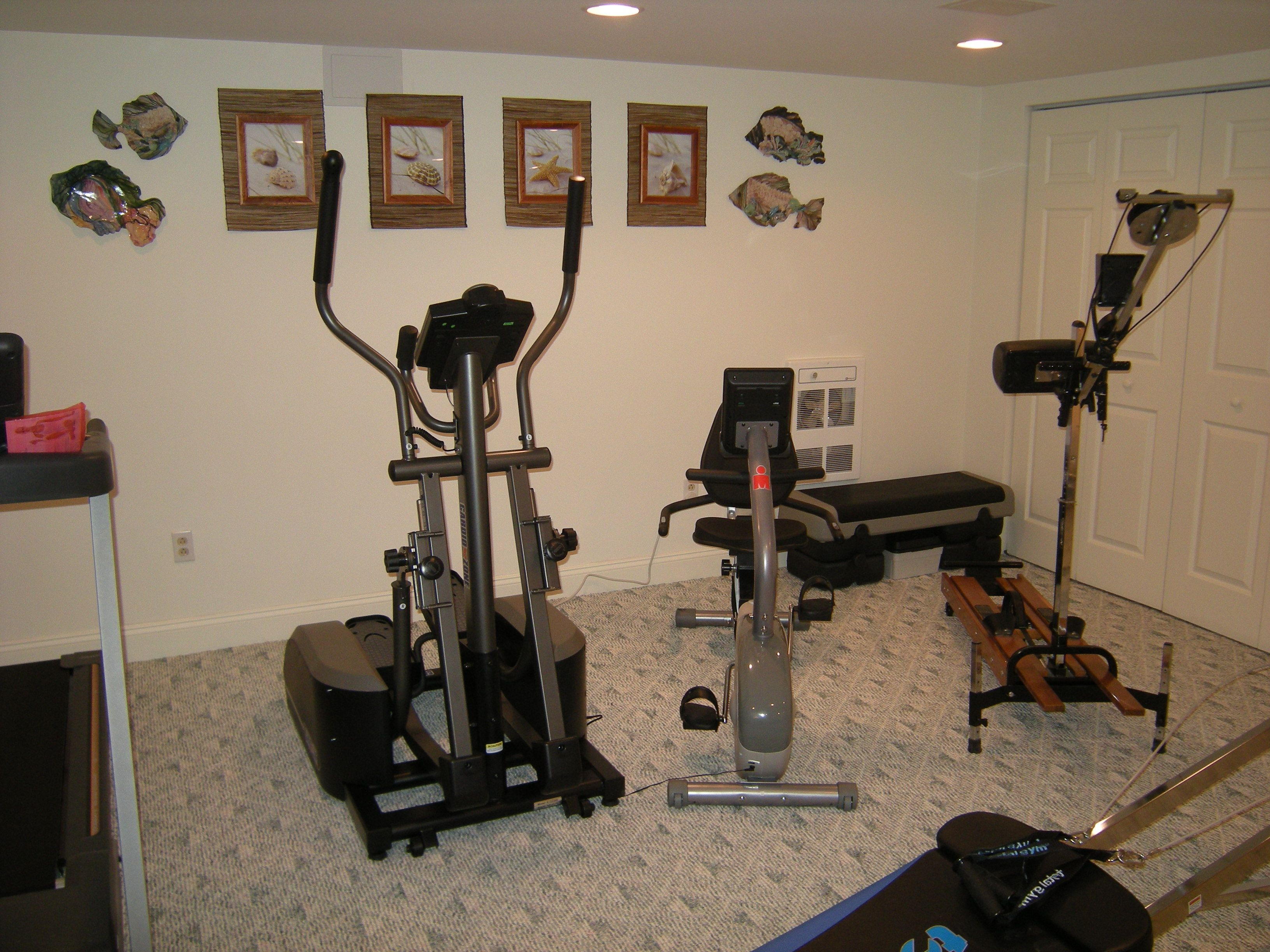 Home Gyms Small Spaces Google Search Home Gyms Pinterest - Small elliptical for home