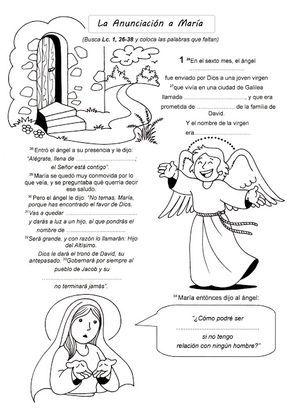 El Rincón De Las Melli El Evangelio Para Completar La Infancia De Jesús Texto Biblico Para Niños Temas De Catequesis Actividades De La Biblia