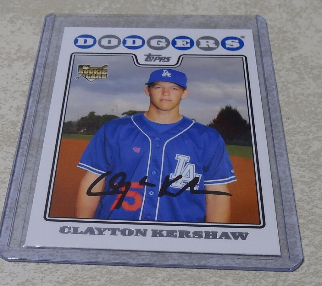 2008 Topps Update #UH240 Clayton Kershaw Los Angeles Dodgers ROOKIE RC Lot of 2 https://t.co/gY7zE1gwau https://t.co/x1A85sCMBc