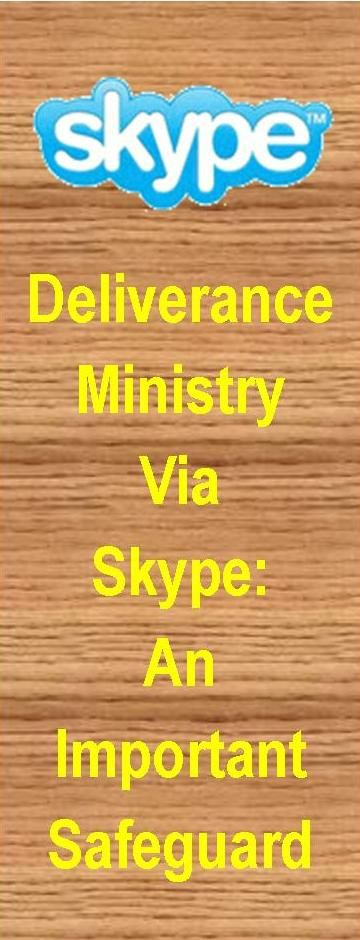 Internet Counseling / Deliverance ministry needs special