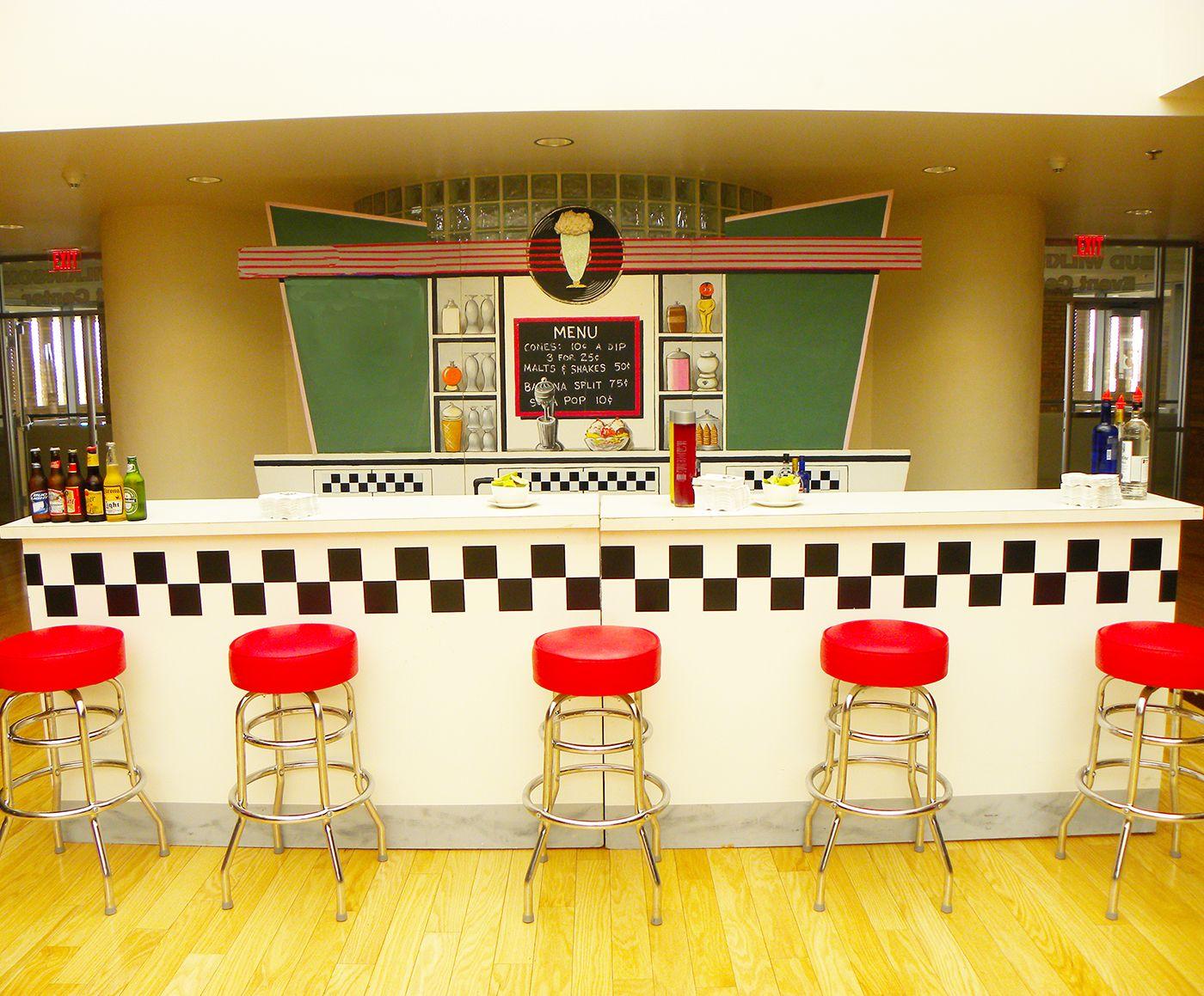 50s soda fountain #retro | Helpful Hints | Pinterest