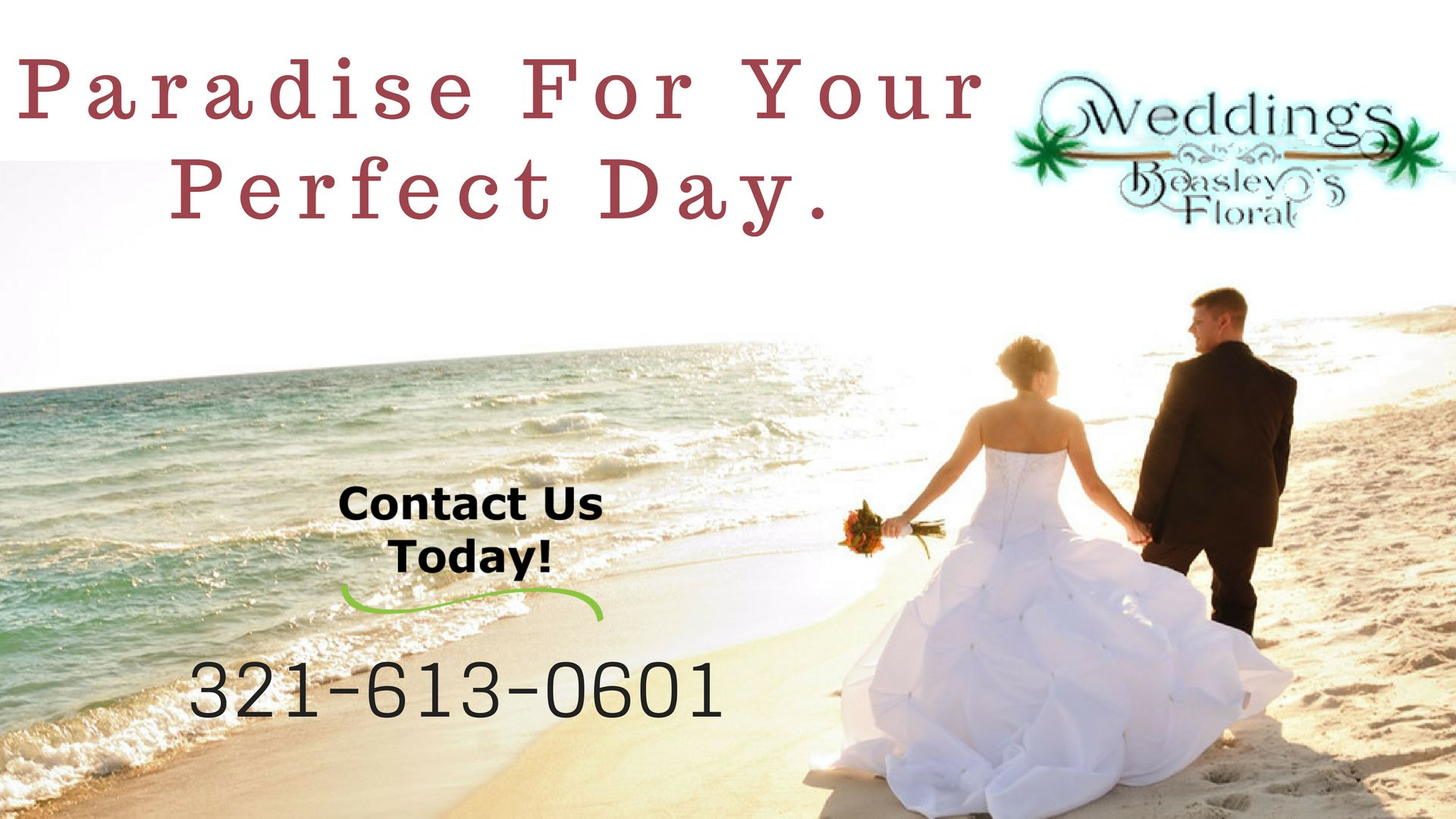 Get Married in Cocoa Beach Beach wedding packages