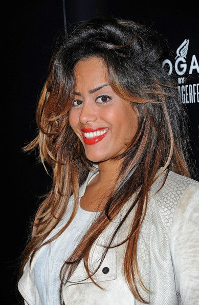 Amel Bent in Celebs at the Hogan by Karl Lagerfeld Party in Paris