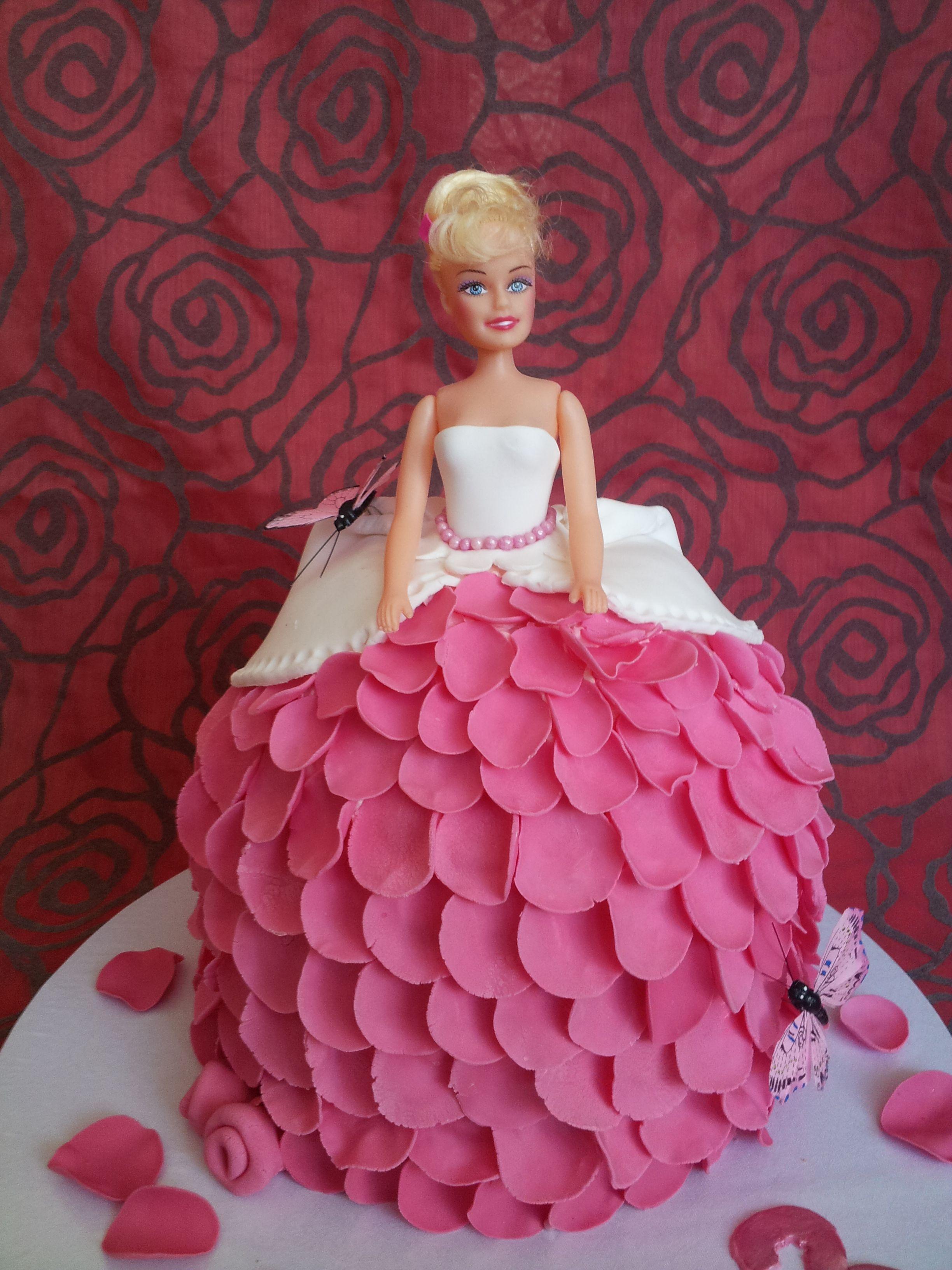 Barbir Rose Children S Birthday Cakes Childrens Birthday Cakes Cute Cakes Cake