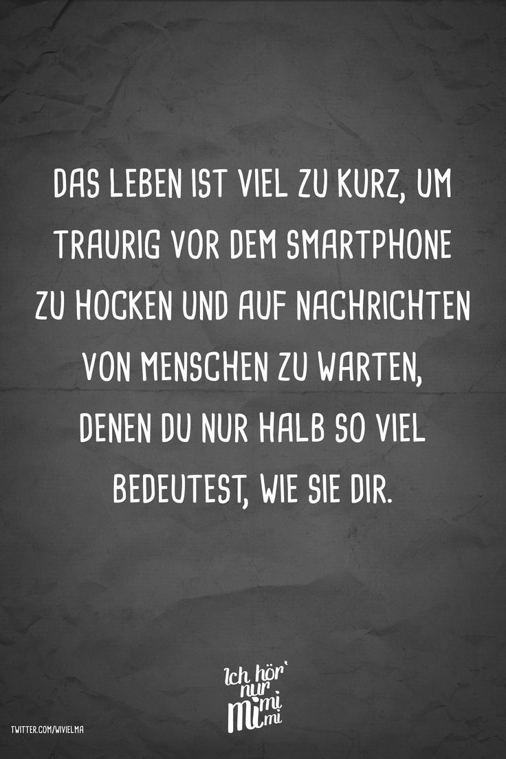 Photo of Visual Statements® Life is too short to be sad in front of the smartphone …