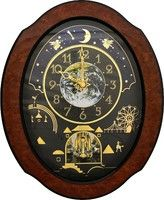 4mh879wu06 Timecracker Cosmos Height 20 4 X Width 16 7 Wooden Frame Volume Control Demonstration Button On Off Wall Clock Clock Oversized Wall Clock