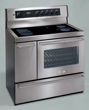 Plef489cc Frigidaire Professional Series Electric Range In 2020 Electric Stove Kitchen Decor Vintage Stoves