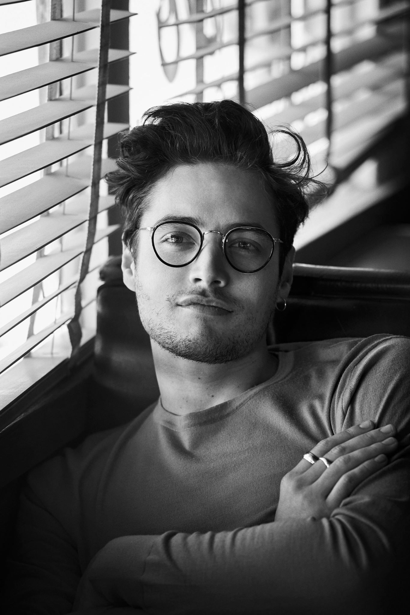 9f3cb9e6e6a levidylan wears MP-2 in Oliver Peoples 30th anniversary campaign ...