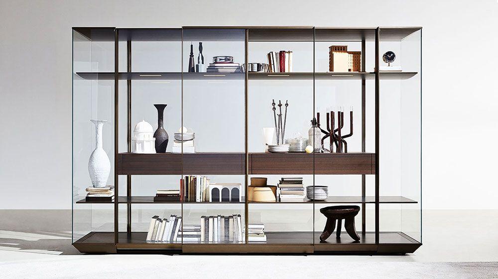 Meuble design transparent et bois   wwwdenisinterieurbe
