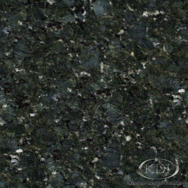 Green Granite Kitchen Countertop