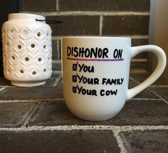 Ähnliche Artikel wie Schande auf Sie, auf Ihre Familie, auf Ihre Kuh. Mulan Disney, Kaffeebecher auf Etsy