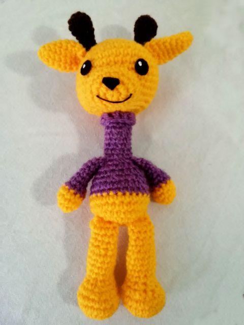 patron gratuito jirafa amigurumi crochet jiraffe english pattern ...