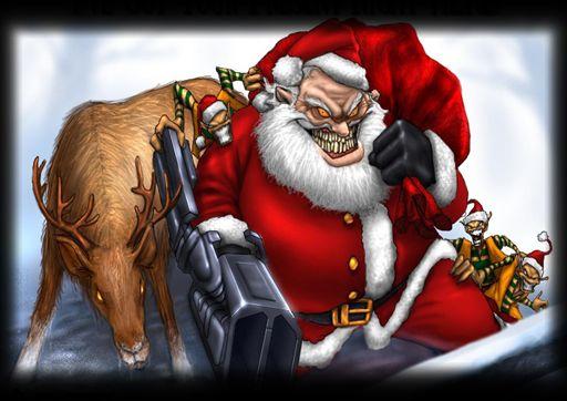 Captured And Tagged 4 Xmas E Openarena Creepy Christmas Scary Christmas Bad Santa
