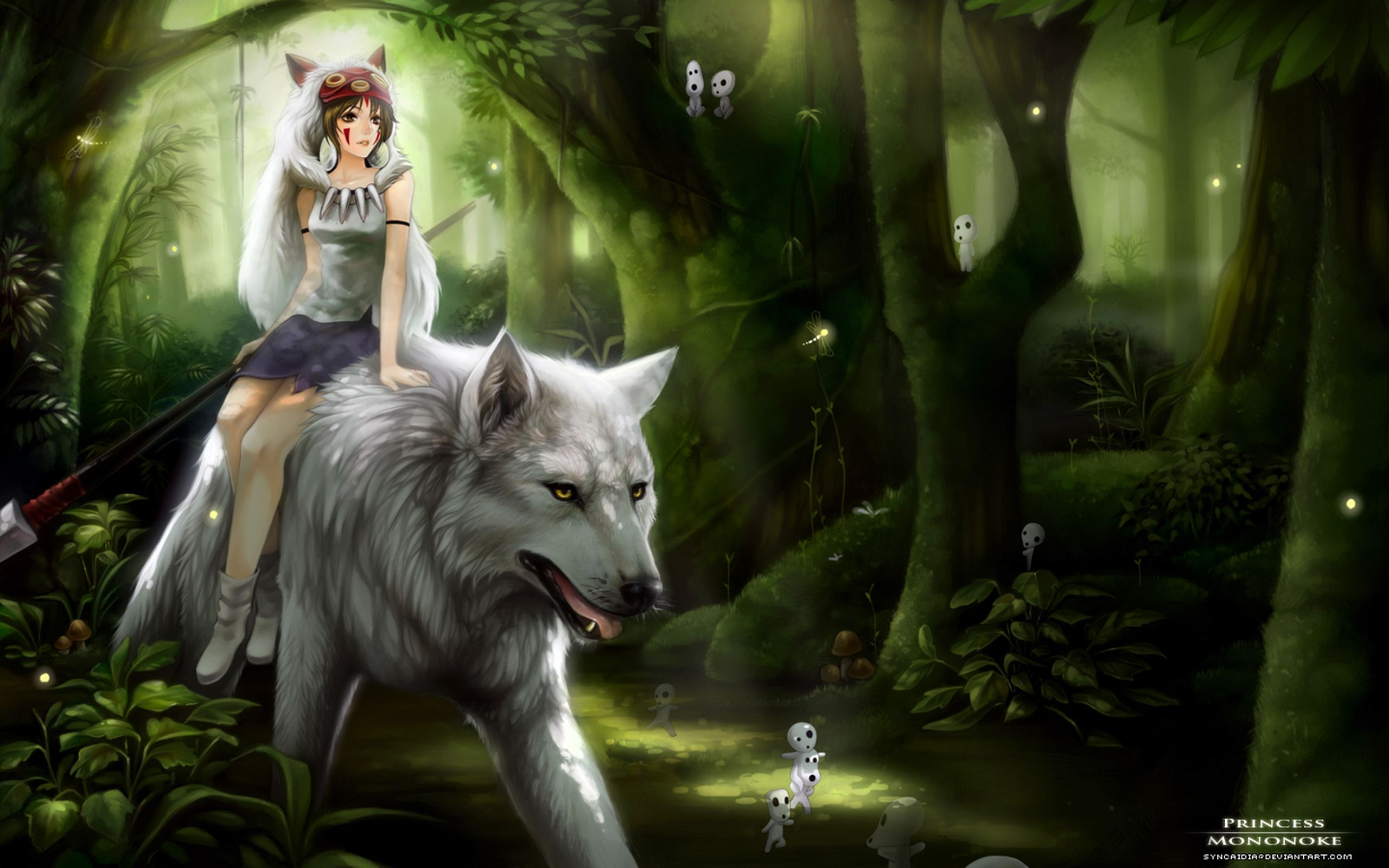 Princess Mononoke Hd Wallpapers Backgrounds Wallpaper Abyss