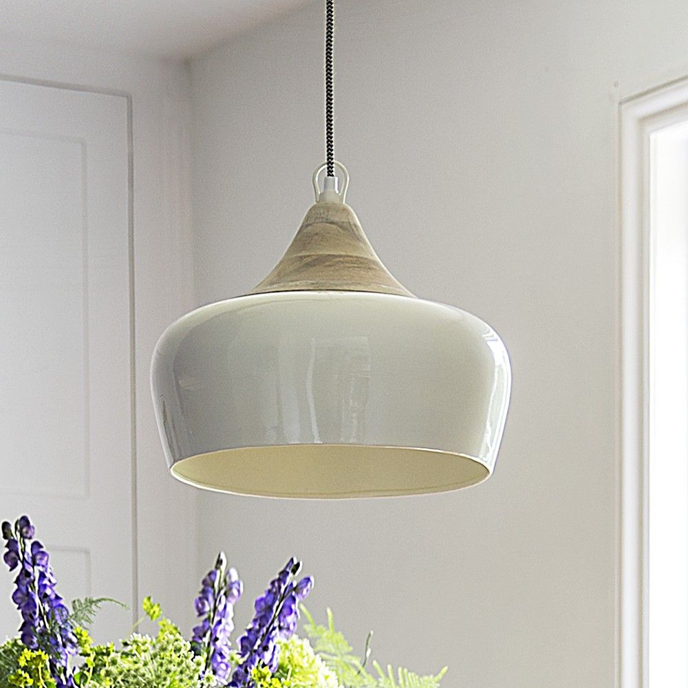 Alhambra Ceiling Pendant In Ivory Contemporary Ceiling Light