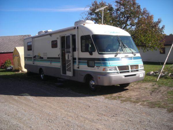 1994 Southwind Fleetwood Motor Home Motorhome Recreational Vehicles Rv Campers