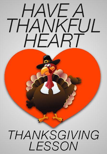 Thanksgiving Children's Church Lesson - Have a Thankful