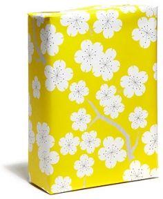 Golden Cherry Gift Wrap