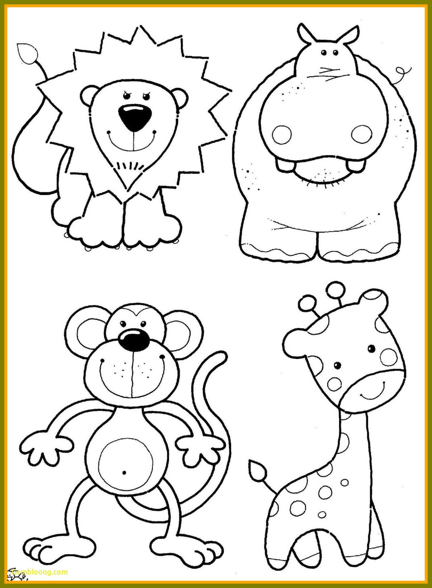 Zoo Animals Coloring Sheet Coloring Pages Baby Animal Coloring Pages Best Lets Zoo Animal Coloring Pages Animal Coloring Pages Animal Coloring Books