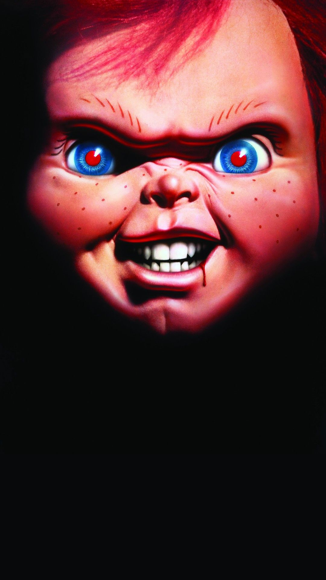 Chucky Scary Doll Phone Wallpaper HD Check more at https