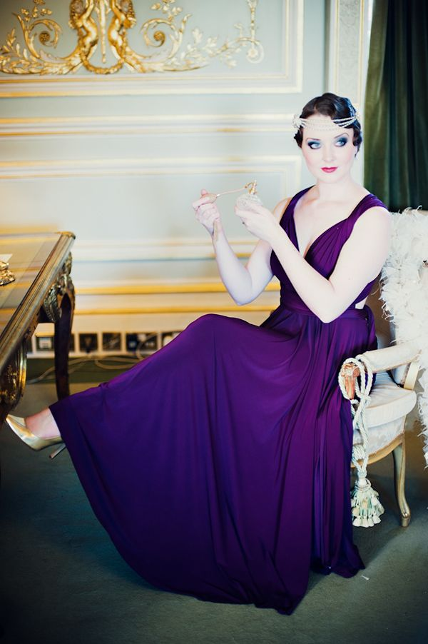 1920s inspired bridesmaid look. Dress by Two Birds. OMG I Love ...