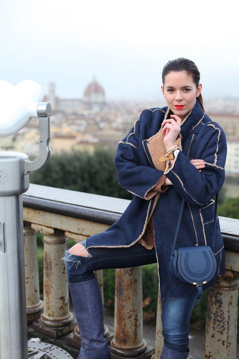 innovative design 554f0 60d8d Giacca in montone donna | pellicce e co | Boots, Rain e How ...