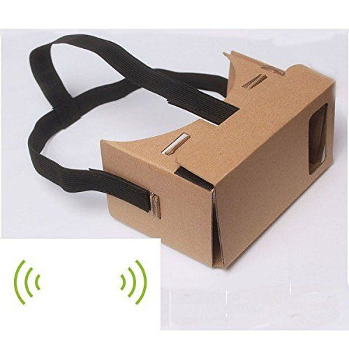 Hot Google Cardboard 3D Vr Virtual Reality Glasses with NFC