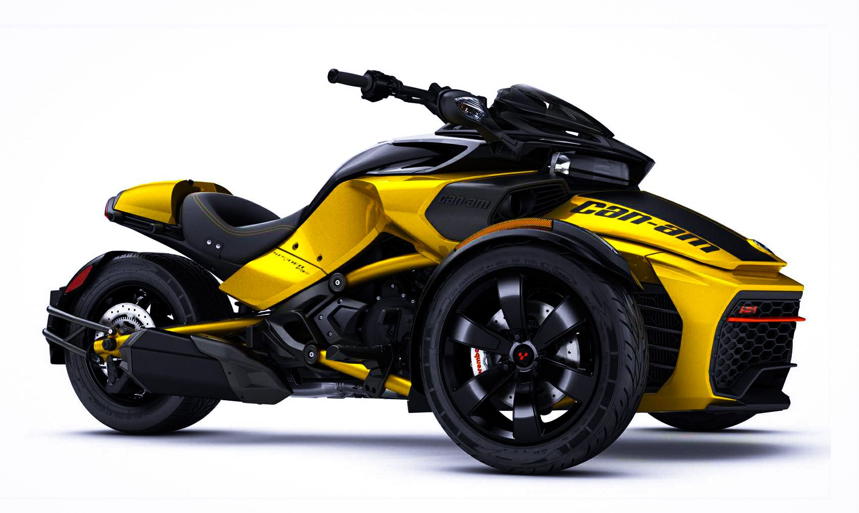 For the can am spyder gets a sport mode that turns off the traction control to allow controlled drifts and a new daytona 500 edition will available