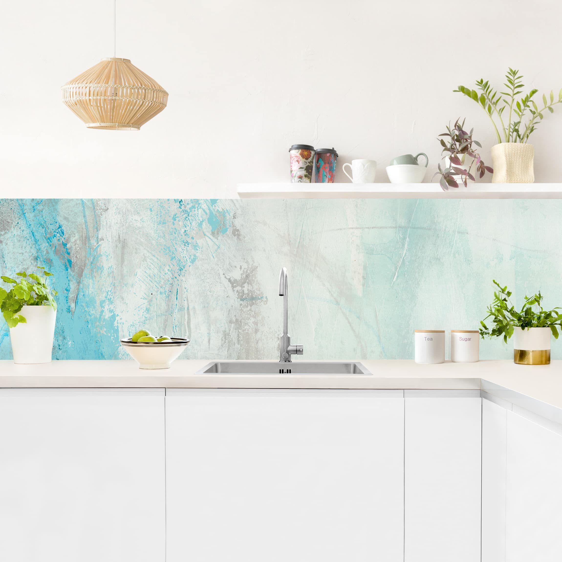 Rivestimento cucina - Mare ghiacciato | Collezioni ...