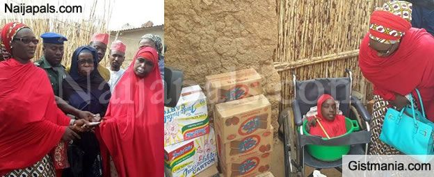 PHOTOS: Kano Govt Empowers Limbless Rahma Haruna And Her Family With Gifts