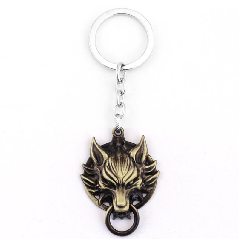 Final Fantasy VII FF7 Cloud Wolf Head Cosplay Bracelet