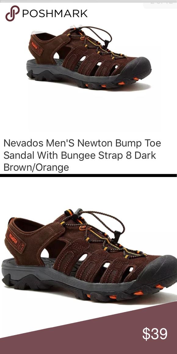 b813cbb649cd Sz 12 Nevados Men s Bump Toe Sandal Dark Brown Size 12 New in Box Nevados  Men s