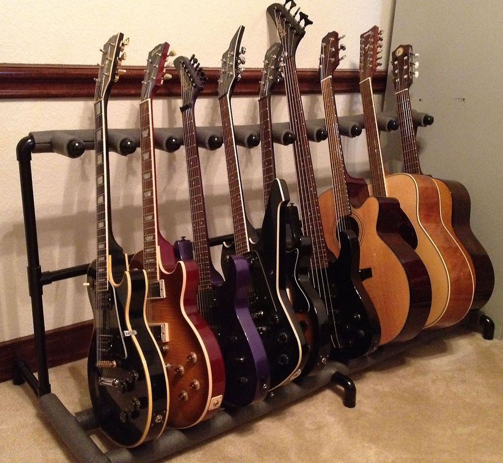Pvc Pipe Guitar Rack Ekstrom Nink Thought You Might Like This