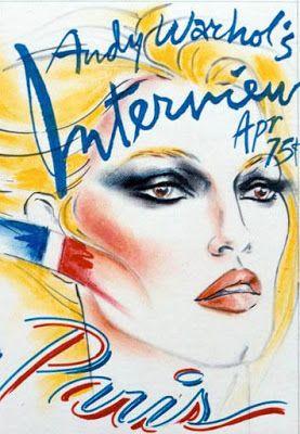 Antonio Lopez Via Lamont O Neal The Picasso Of Fashion