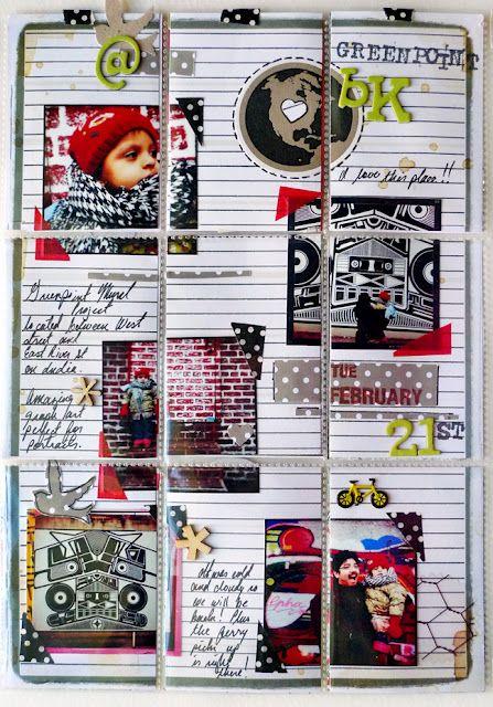 Amazing PL-layout by Michelle Hernandez of #myanaloglife