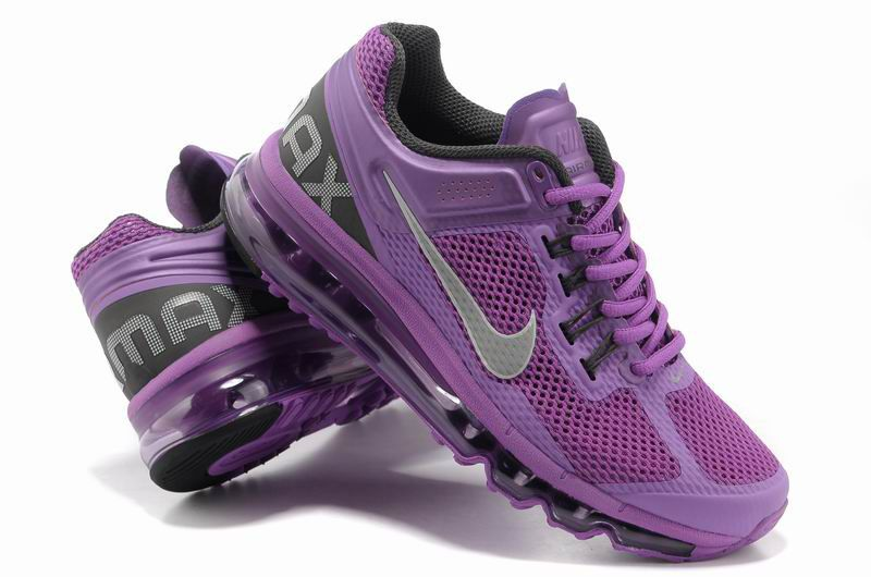 Nike Air Max 2013 Womens Club Purple 555363 500 [Tiffany