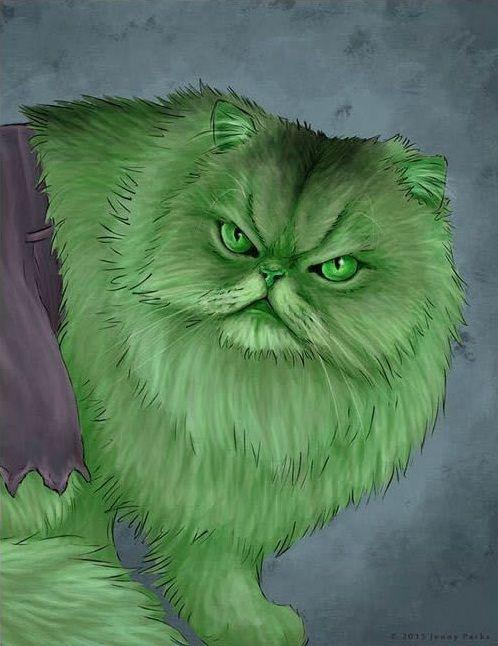 Hulk [CAT] by Jenny Parks