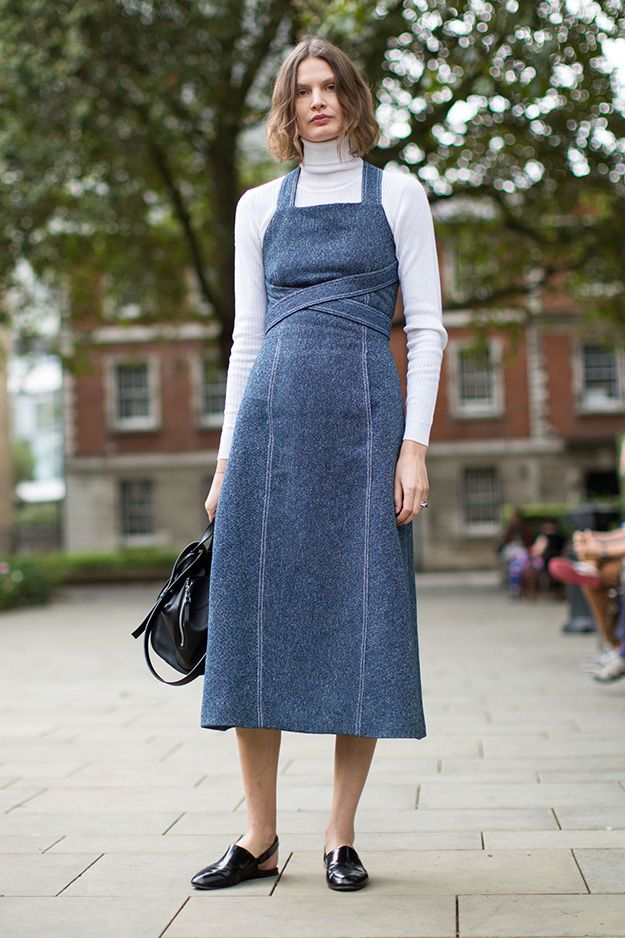 What is worn on the London Fashion Week: Part 3, Buro 24/7
