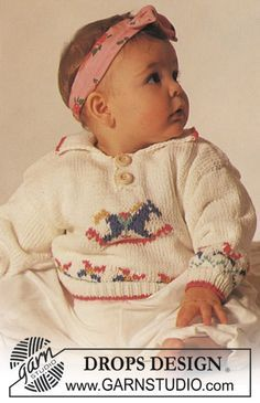 Drops Jumper With Rocking Horse Motif In Muskat Drops Design Baby Pullover Baby Stricken Und Pullover Hakelmuster