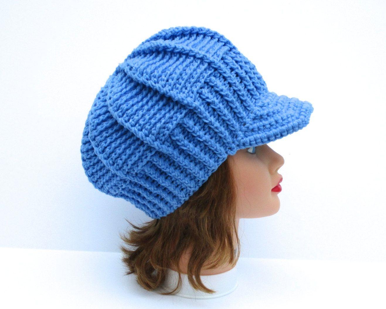 Newsboy Hats For Women Crochet Hat Women S Hat With Etsy Crochet Newsboy Hat Visor Beanie Crochet Hats