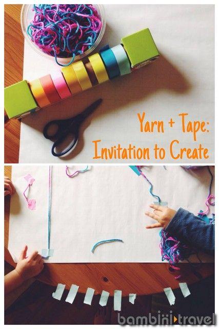 String Tape Invitation To Create