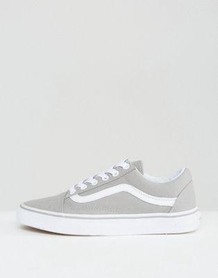 official photos 205b8 5d61e Vans – Klassische Old Skool-Sneaker in Grau-#klassische ...