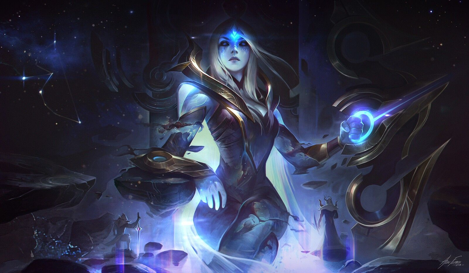 Pin by Fred l on Artwork & Illustration Lol league of