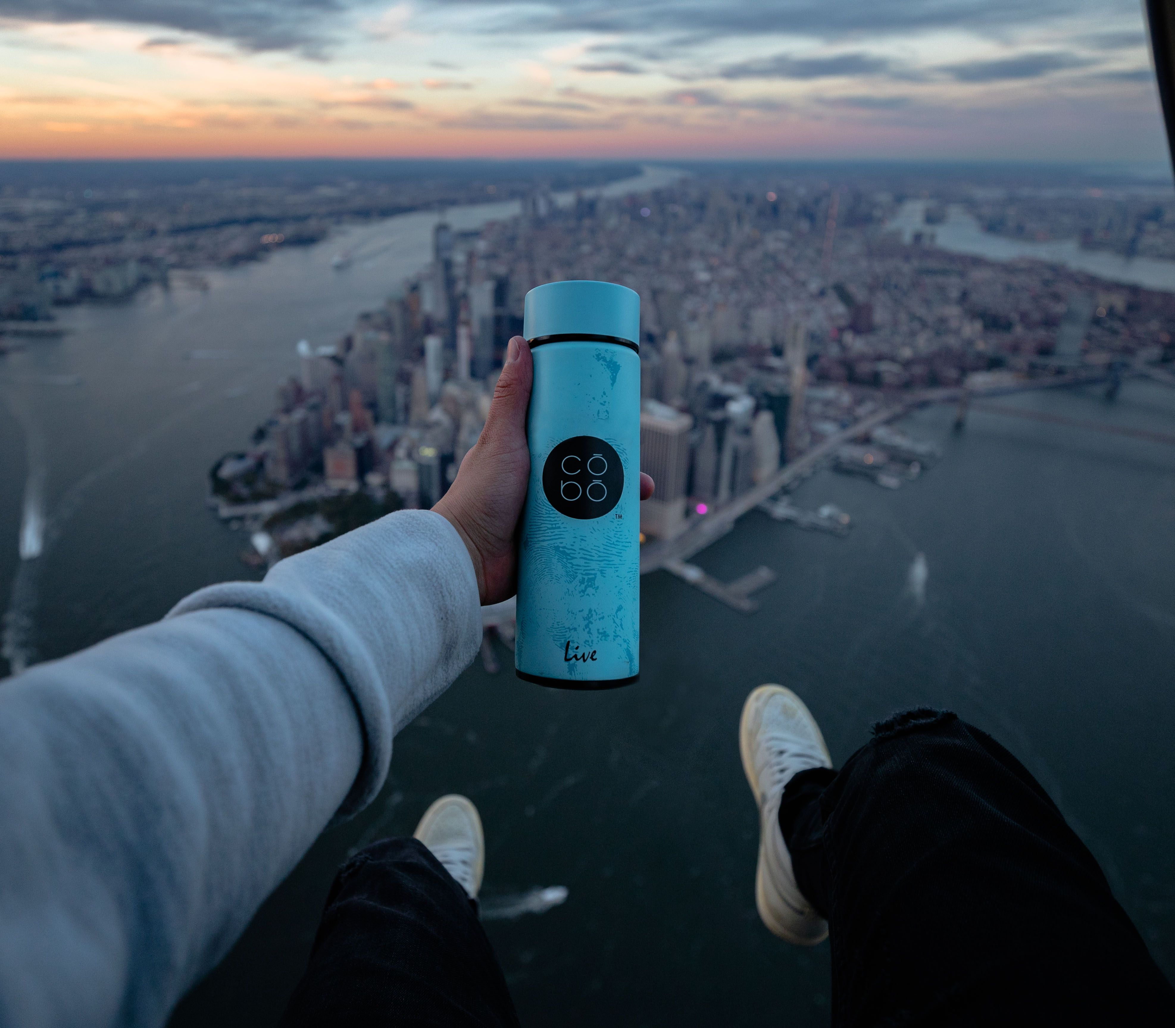 Adventure with your COBO Bottle and share your COBO