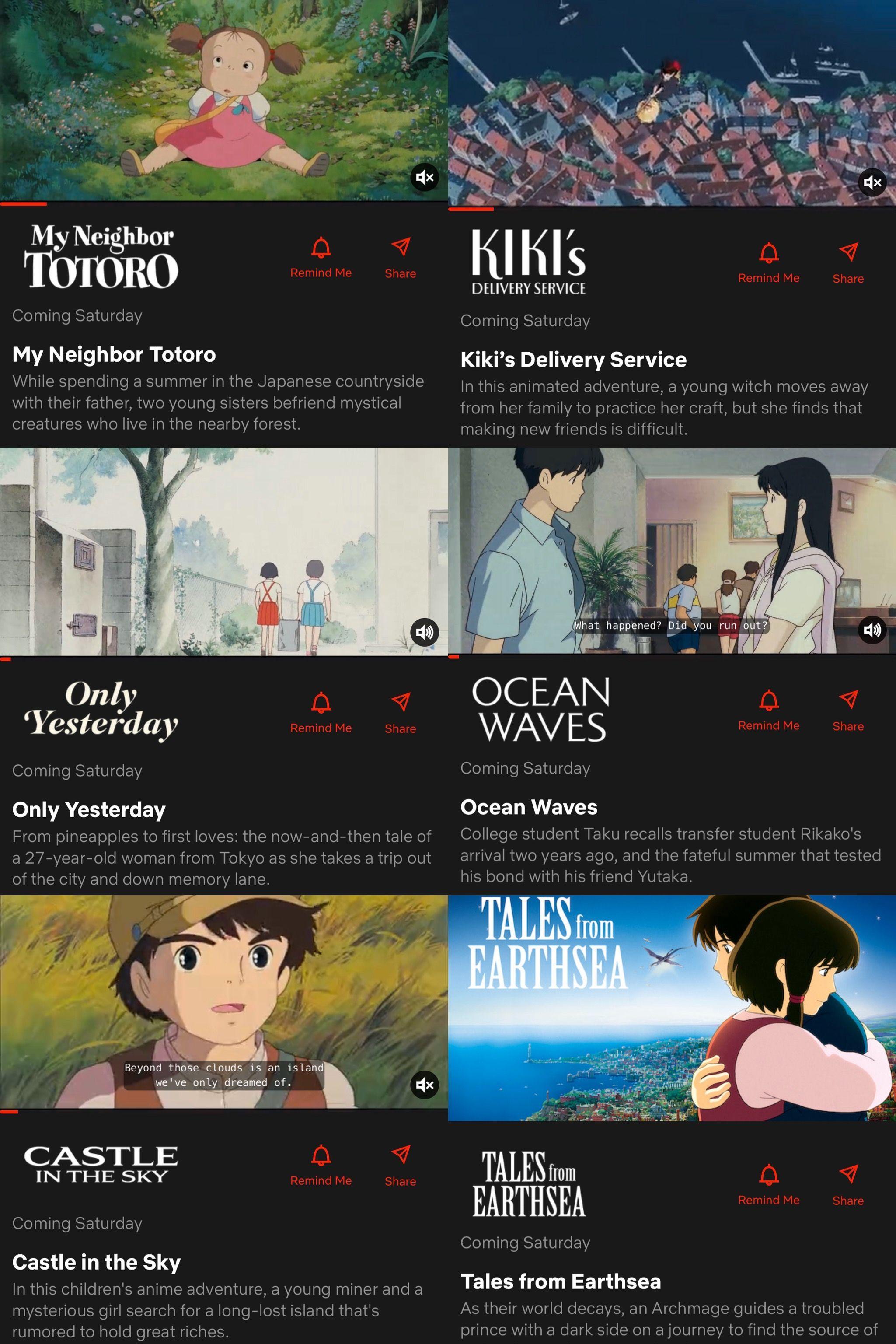 Filem2 Ghibli Yang Release Di Netflix This February Antara Semua