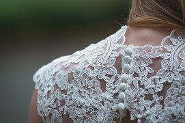 Lace, Clothing, Woman, Shoulder, Wedding