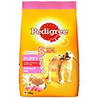 Pedigree Puppy Dry Dog Food Chicken Milk 1 2kg Pack Dog Food