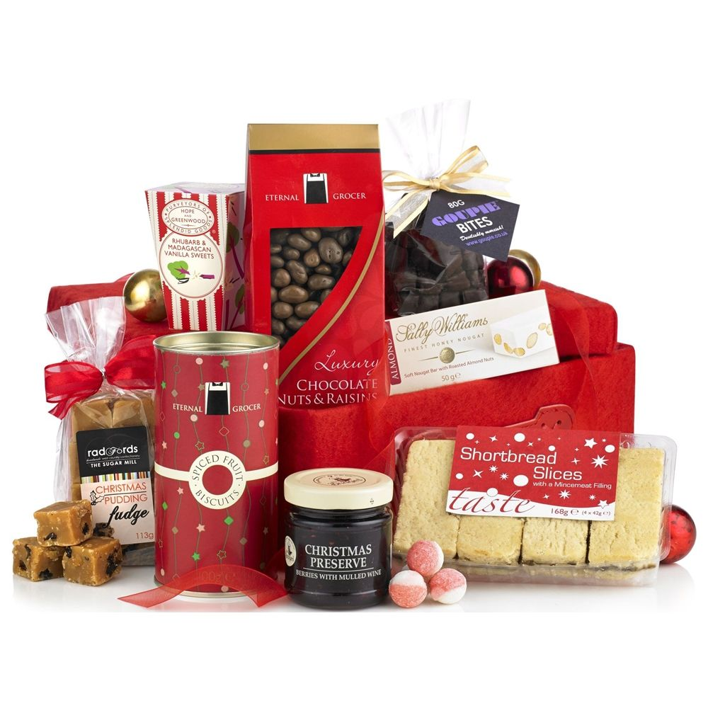 Christmas Gift Hamper Nibble Selection in a Box http